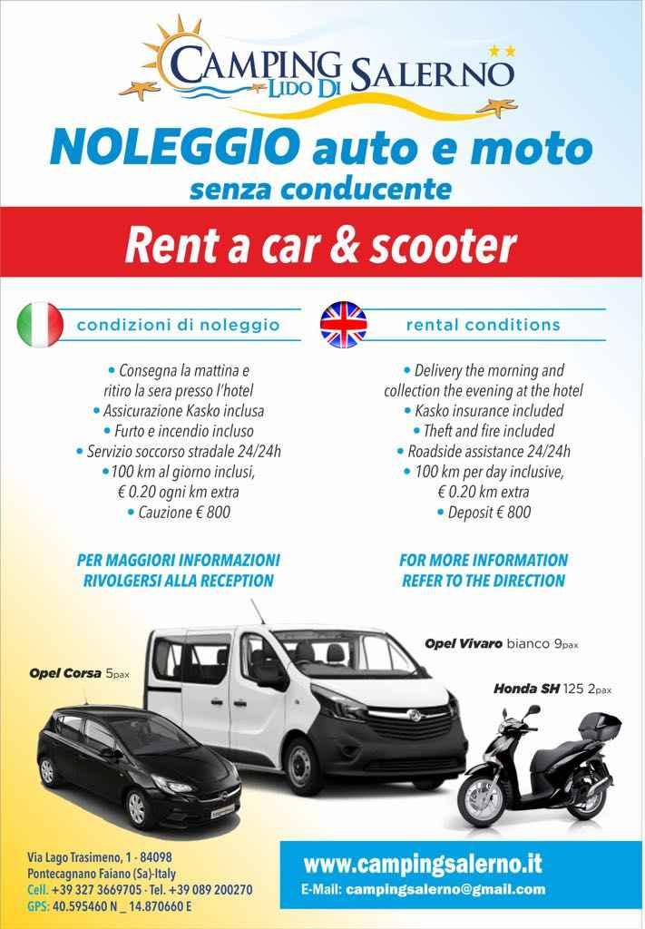 NEUER SERVICE! AUTO / MOTORRAD-VERLEIH / VAN